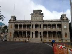Front of `Iolani Palace
