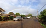 First rainbow we saw as we were leaving the açaí bowl hut.