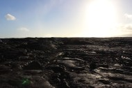 More of the newer lava.