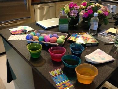 Last few eggs drying!