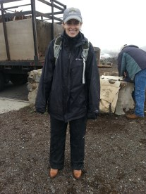 My giant rain suit.
