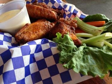 Delicious chicken wings!