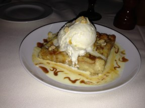 Dessert! LCG Bread Pudding.
