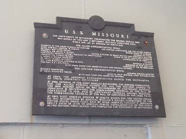 USS Missouri 12