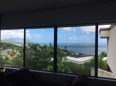 View from the master bedroom.