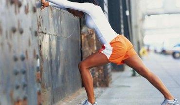 Calf muscle stretch