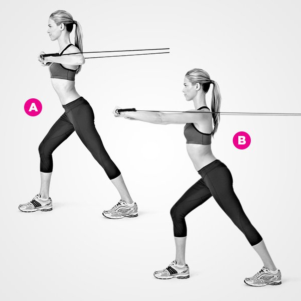 Resistance Band Chest Press