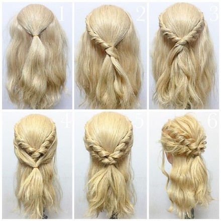 9 step-by-step Hairstyle Tutorials 02