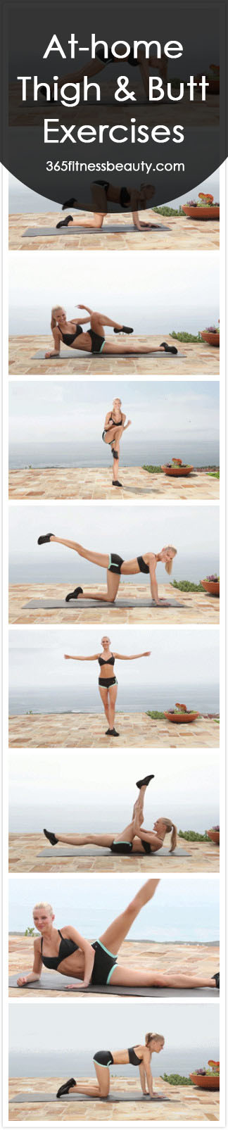 At-home Thigh & Butt Exercises