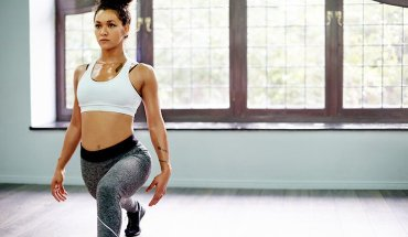 body weight squat lunge cover