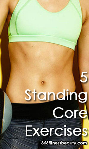 5 Standing Core Exercises For Beginners (VIDEOS)