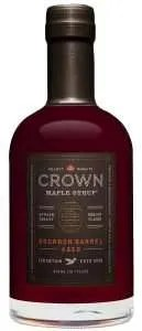 Food gifts, Crown Bourbon Barrel Aged Maple Organic Maple Syrup