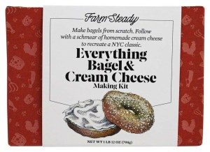 Food gifts, Farm Steady Everything Bagel and Cream Cheese Making Kit