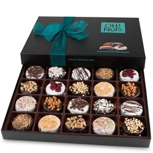 best chocolate gifts, Oh! Nuts Chocolate Covered Cookie Gift Baskets