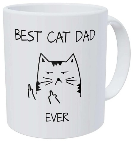 best gifts for cat lovers, Best Cat Dad Ever