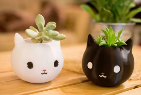 best gifts for cat lovers, Cat Planter