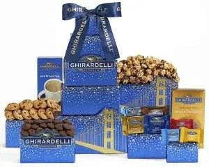 chocolate gifts, Ghirardelli Tower Gift Tower