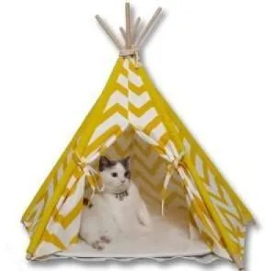 christmas cat gifts, little dove Pet Teepee House
