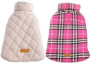 christmas gifts for your dog, Kuoser Dog Coats
