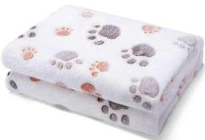 dog gifts, Allisandro Premium Flannel Fleece Dog Throw Blanket