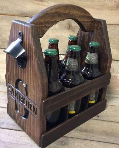Beer Carrier Caddy, valentine's day gift for boyfriend