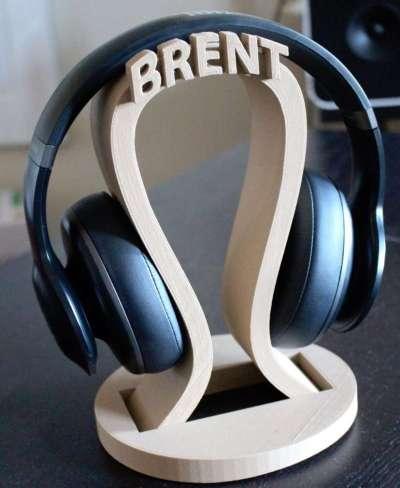 Custom headphone holder, valentine's day gift for boyfriend
