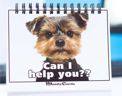 Doggy Moodycards, unique gift for dog lovers