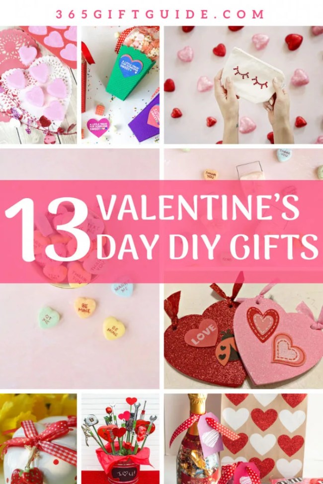 13 valentine's day diy gift ideas, last minute gift ideas