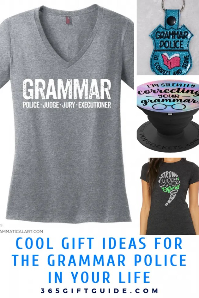 Cool gift ideas for the grammar police in your life