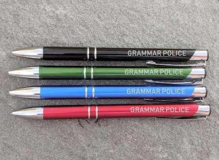 Gramma Police Unique Pen