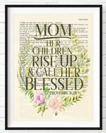 Proverbs 31-28 Christian