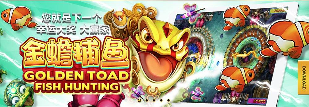 Joker123 Joker Golden Toad Fish Hunting