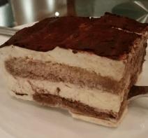 Lucciola Restaurant NYC Tiramisu