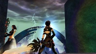Kira reaches the temple of Lyssa.