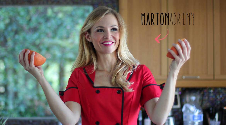 Marton Adrienn privát séf | 365letszikra