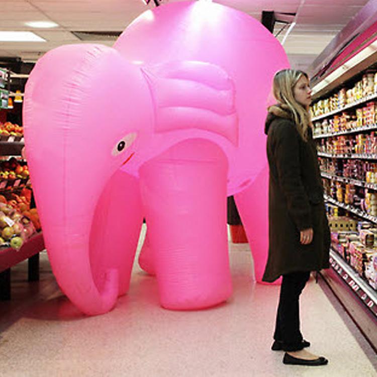 Ne gondolj a rózsaszín elefántra