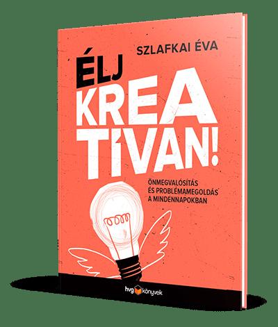 Élj kreatívan! könyv CTA