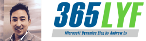 Microsoft Dynamics Blog by Andrew