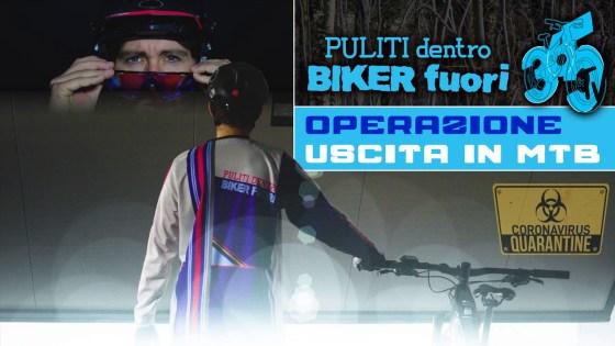 operazione uscita in bici