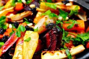 Ειδήσεις - Σαλάτα με ψητά λαχανικά