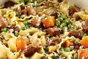 Κόμφορτ μακαρονάδα με μοσχάρι, λαχανικά και πορτοκάλι - [Kathimerini.gr]