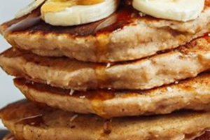 Pancakes με βρώμη, μπανάνα και ταχίνι για να ξεκινήσεις γλυκά την ημέρα σου!