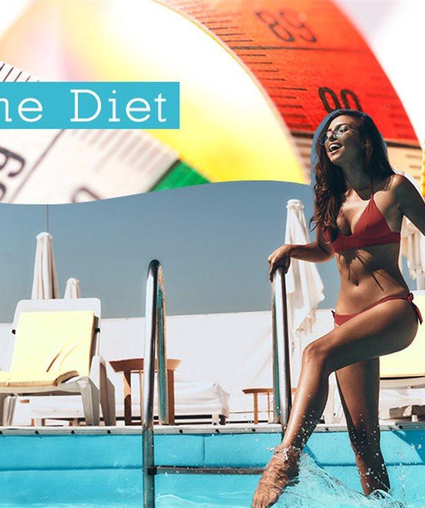 The Diet Challenge (week ΙV): Το πρόγραμμα διατροφής που σε τέσσερις εβδομάδες θα σε κάνει να λάμπεις μέσα στο μπικίνι