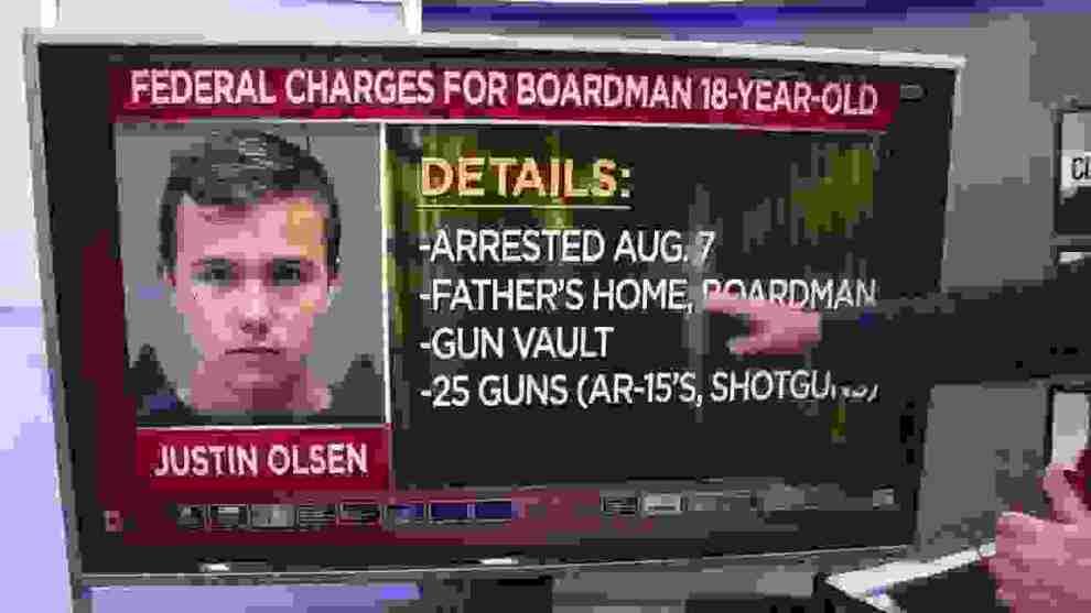 ΗΠΑ: 18χρονος με 25 όπλα και 10.000 σφαίρες στο σπίτι του - Ειδήσεις - νέα - Το Βήμα Online