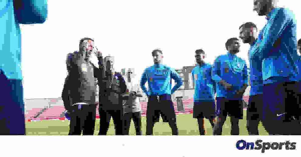 Εθνική ομάδα: Κουβέντα Φαν'τ Σιπ με Παπασταθόπουλο