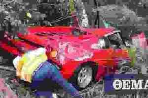 Μια Lamborghini Diablo που κατέληξε στο… χαντάκι
