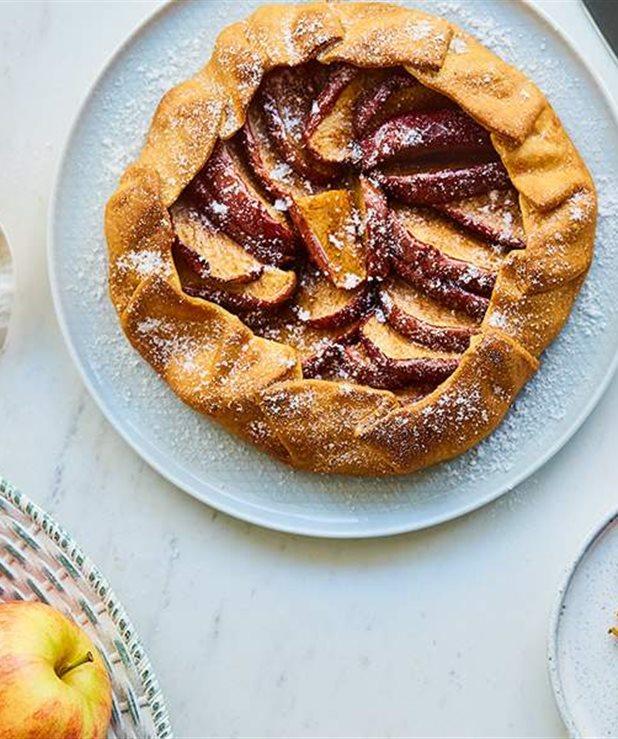 Το γλυκό της έριδος (Galette με μήλα)