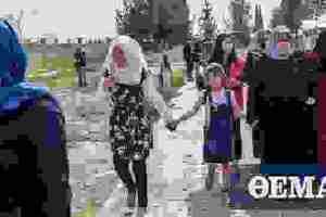 OHE για Συρία: Φόβοι για προσφυγικό τσουνάμι -100.000 ήδη εγκατέλειψαν τις εστίες τους