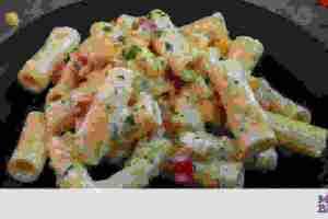 Ριγκατόνι με γιαούρτι & καλαμπόκι - Μία υγιεινή & πεντανόστιμη συνταγή