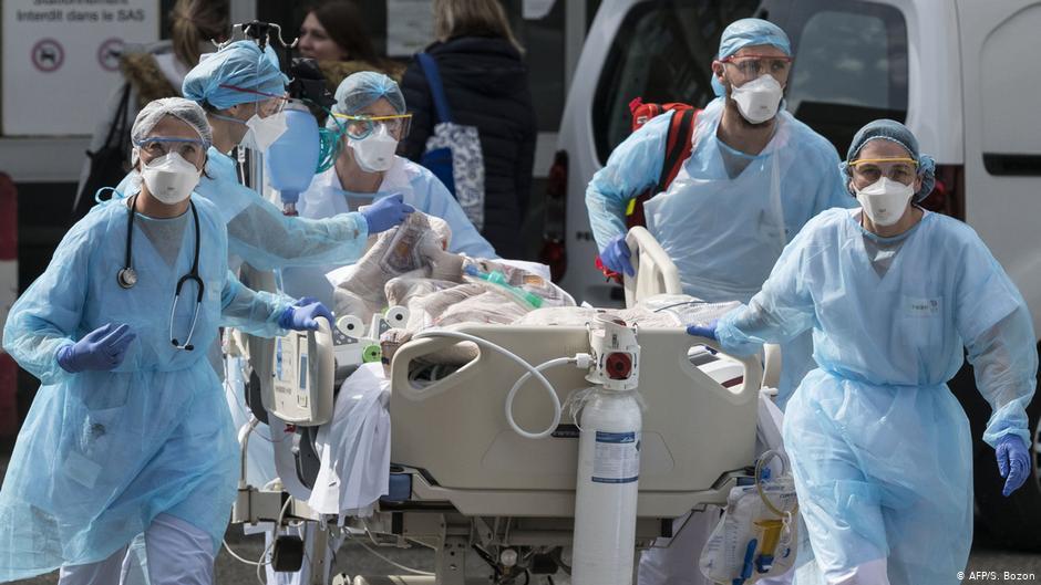 Γάλλοι γιατροί: Είμαστε στο τέλος των δυνατοτήτων μας   DW   31.03.2020